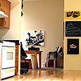 Kitchen / Art Studio